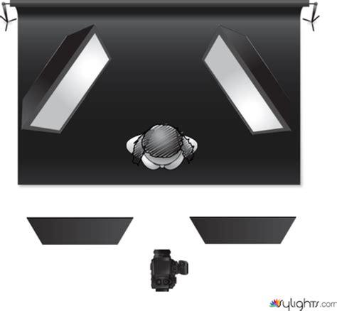 Low Key Lighting Diagram