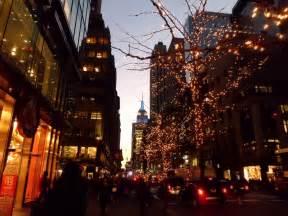 blogging away christmas in new york city