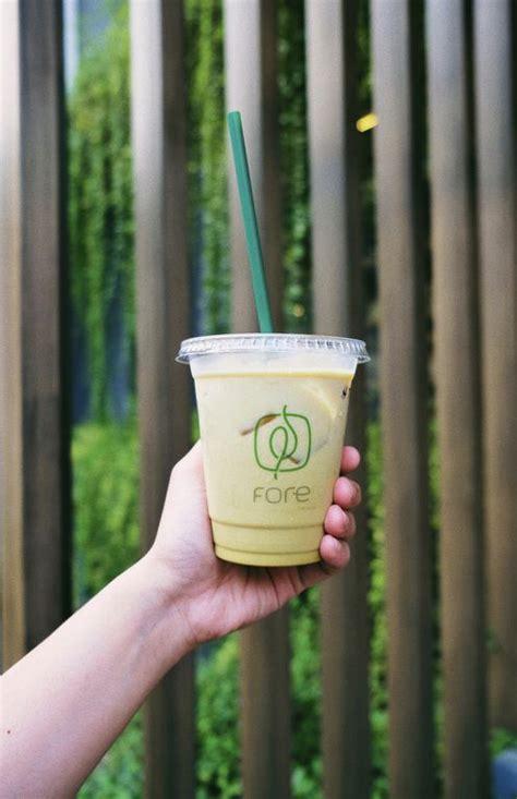 pandan latte mirip cendol review eatbitesnap tiffany putri  restoran fore coffee senopati