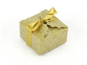 Gold Favor Boxes by Assemble 300 Gold Glitter Favor Boxes Goody Bags Wedding