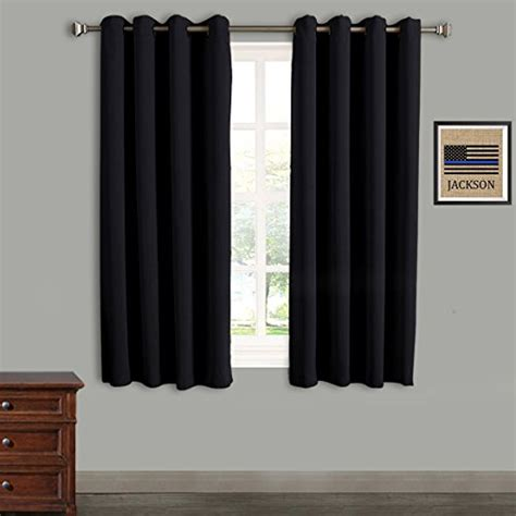black thermal door curtain from usa rhf wide thermal blackout patio door curtain
