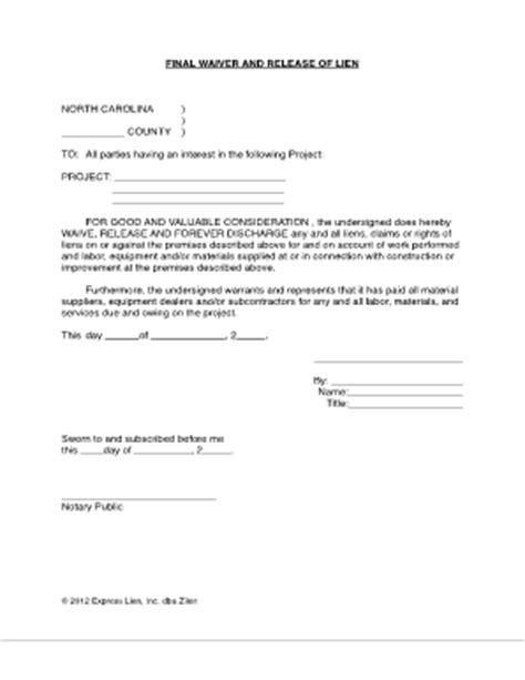 lien waiver template subcontractor lien release form templates fillable