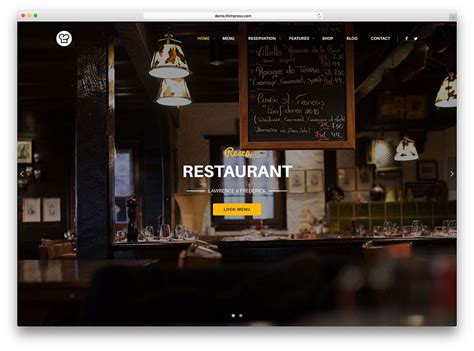 themes in background casually 40 best wordpress restaurant themes 2018 colorlib