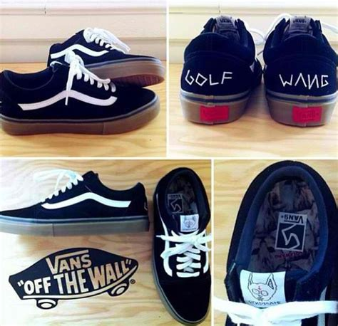Vans Golf Wang Unisex by Vans Skool Pro Syndicate S Golf Wang Future Black