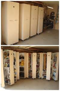 Home Storage Clever Garage Ideas The Handmade Home
