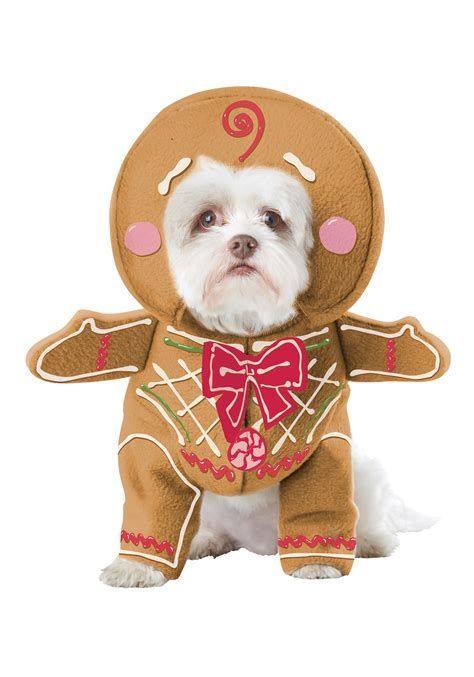 Gingerbread House Outdoor Decorations Gingerbread Pup Dog Costume