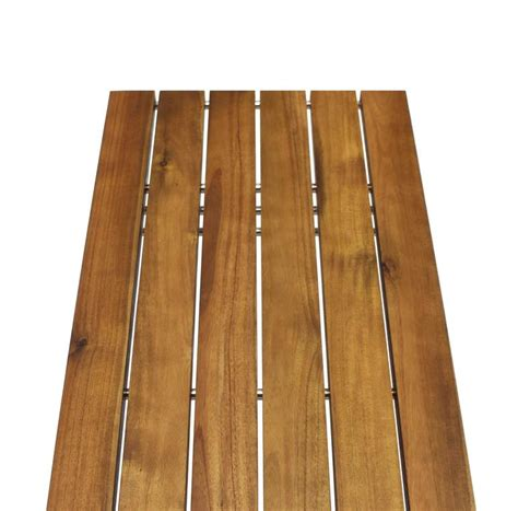 solid wood bench tops solid oiled slat wood top chrome bench for sale at 1stdibs