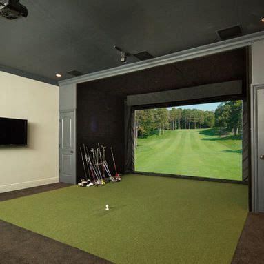 theater room  golf simulator design ideas pictures