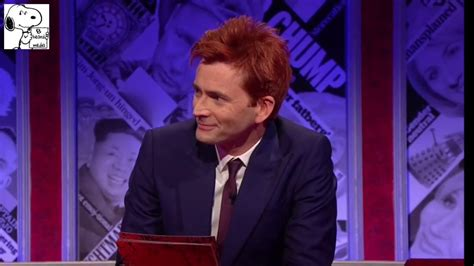 david tennant ginger david tennant destroys the tories on have i got news for
