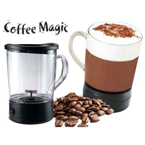 coffee magic frothing mug
