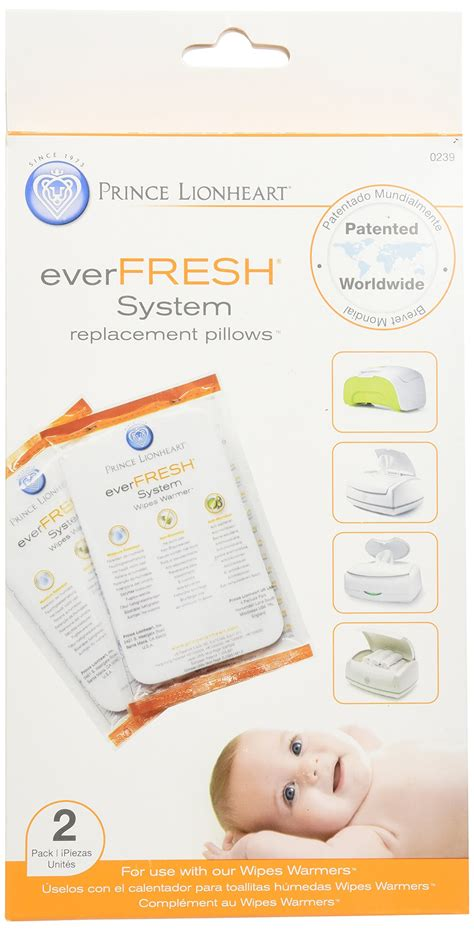 Prince Lionheart Wipes Warmer Replacement Pillow by Prince Lionheart Fresh Replacement Pillows For Ultimate Wipes Warmer 2