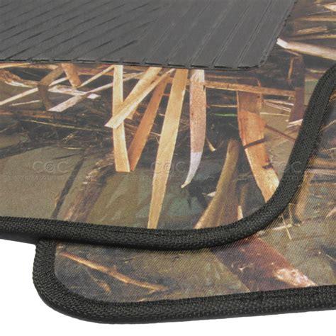 Camo Flooring by 4 Muddy Water Camo Microfiber Floor Mats Water