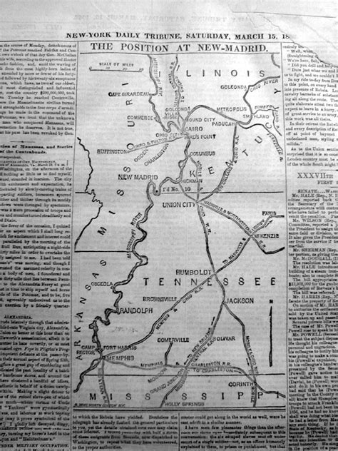 records from missouri newspapers 1861 1865 the civil war years books original 1862 civil war headline newspaper w map battle of