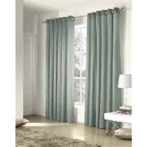 large eyelet curtains ritz jacquard eyelet lined curtains duck egg blue 66 x 54