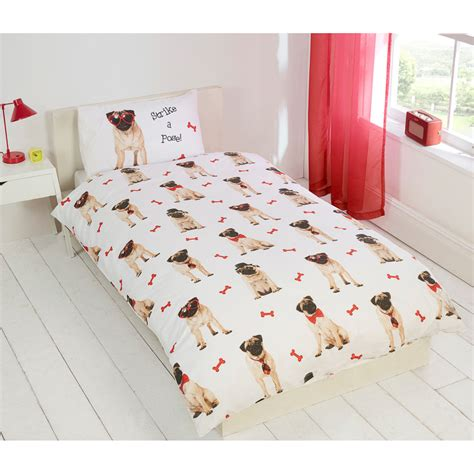 pug bedspread pug bed sheets 28 images pug printed microfibre panel