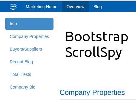 cara membuat website menggunakan bootstrap cara membuat scrollspy dengan menggunakan bootstrap