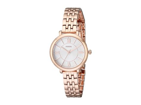 fossil es3799 jacqueline mini fossil jacqueline small stainless steel es3799 in metallic