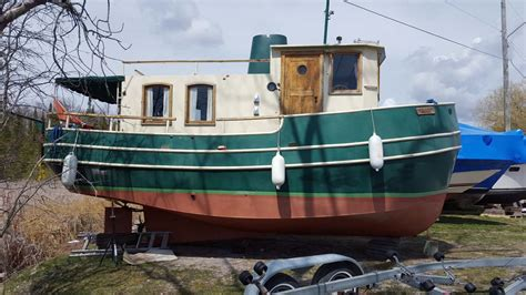 1987 hobby tugboat for sale in the lindsay area northeast - Tugboat Jobs Canada