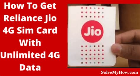reliance jio 4g sim card how to purchase activate and