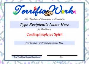 Employee Recognition Certificates Templates Free Certificate Template 50 Free Printable Word Excel Pdf