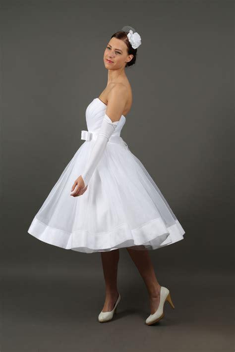 Brautkleider Rockabilly hochzeitskleider kurzes rockabilly brautkleid