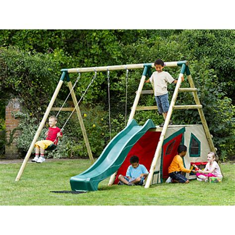 outdoor swings and slides product not available