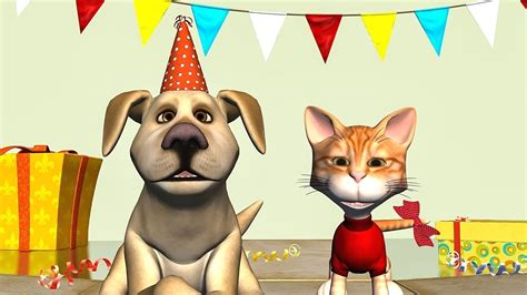 dogs singing happy birthday happy birthday song cat and sing happy birthday to you