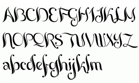 a collection of beautiful calligraphy fonts blueblots com