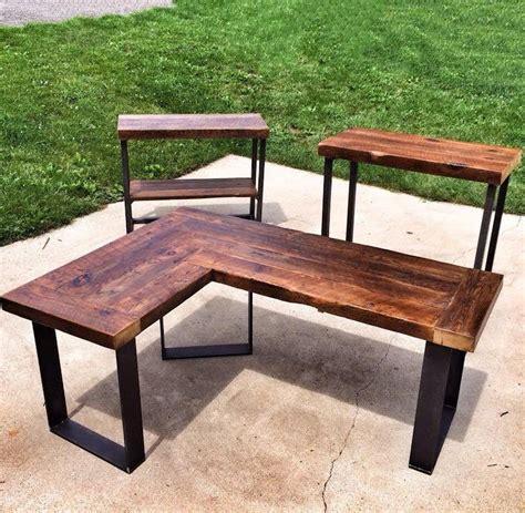 25 best ideas about reclaimed wood desk on