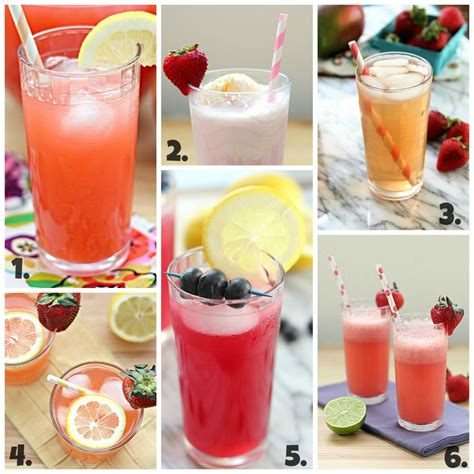 alcoholic drink recipes non alcoholic summer cocktails
