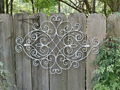 Metal Wall Designs Kyprisnews Garden Wall Decor Wrought Iron
