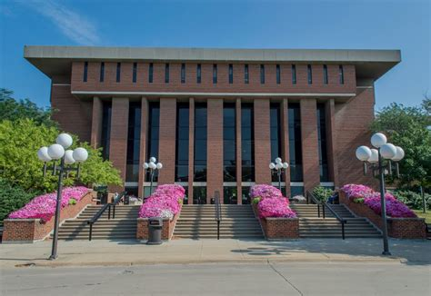 panoramio photo of library of iowa