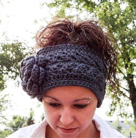 free pattern headband crochet 15 easy crochet headband with flowers diy to make