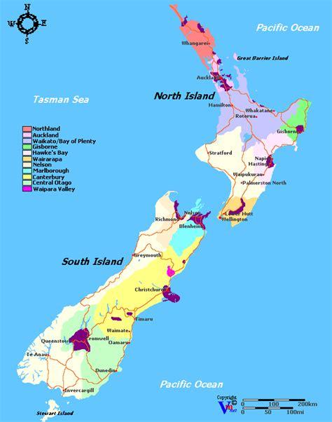 Search In Nz New Zealand S Wine Regions