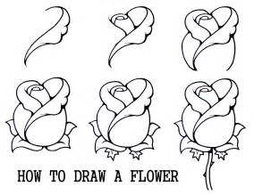 how to draw a flower step by step daryl hobson artwork