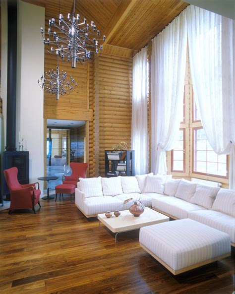modern log home interiors modern log cabin design will blow your mind