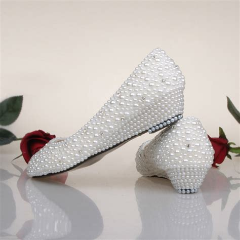 Where To Get Bridal Shoes by Get Cheap Wedge Bridal Shoes Ivory Aliexpress