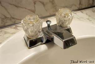 bathroom sink how to install a faucet