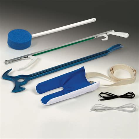 sock aid device after hip replacement reach assist kits deluxe hip kit for independent living aids reaching aids dr