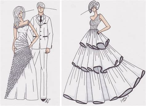 how to design a dress modern design a wedding dress with how to draw a wedding