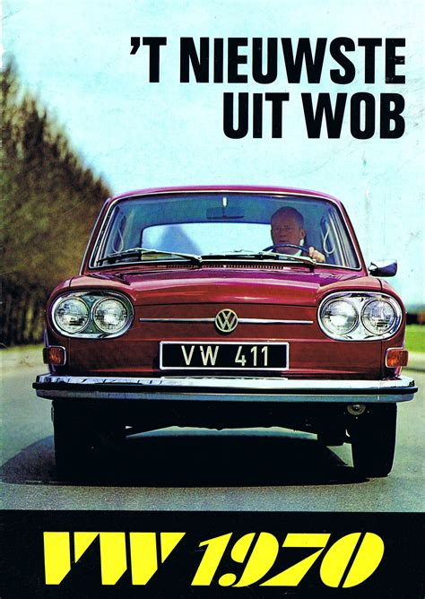 Vw Autos 1970 by 1970 Vw Brochure