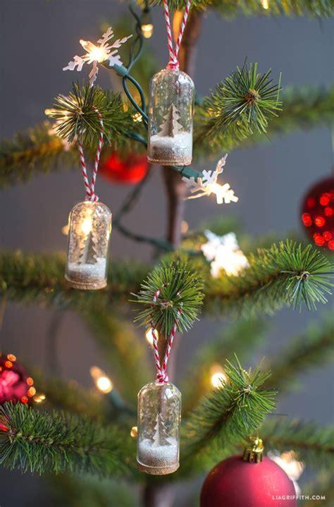 diy mini snow globe ornaments  days  homemade
