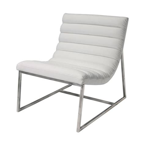 Home Decor Accent Chairs by Shop Best Selling Home Decor Parisian White Leather Accent