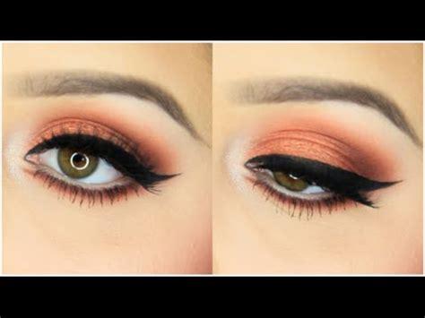 tutorial makeup natural peach peach coral spring makeup tutorial youtube