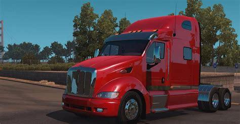 peterbilt semi trucks peterbilt 387 truck american truck simulator mod ats mod