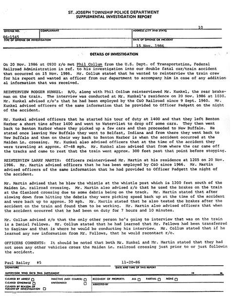 Incident Report Sle Letter In School A Million Lies The Gun