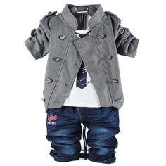 T B B Denim Baby Boy carters newborn 3 6 9 12 months fox cardigan set
