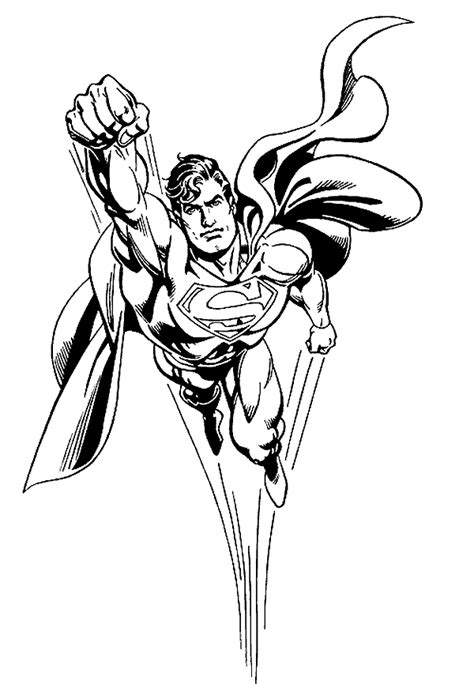 superman coloring pages coloringpages1001 com