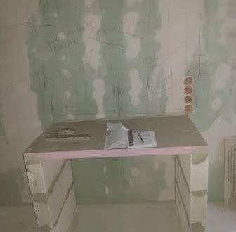 waschtisch selbst gebaut deckenkasten fur beleuchtung selber bauen ed for