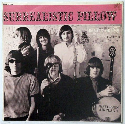Jefferson Airplane Surrealistic Pillow by Jefferson Airplane Surrealistic Pillow Uk Stereo Issue